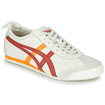 Schuhe Sneaker Low Onitsuka Tiger MEXICO 66 Weiss / Rot / Gelb