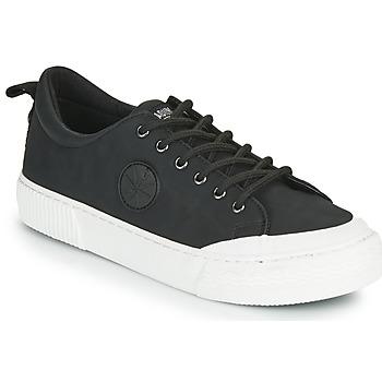 Schuhe Damen Sneaker Low Palladium Manufacture STUDIO 02 Schwarz