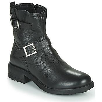 Schuhe Damen Boots Les Tropéziennes par M Belarbi LOOKY Schwarz