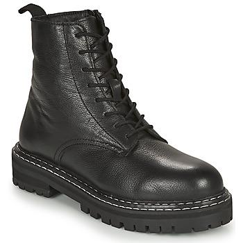 Schuhe Damen Boots Les Tropéziennes par M Belarbi REINE Schwarz