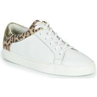 Schuhe Damen Sneaker Low Les Tropéziennes par M Belarbi LOUANE Weiss / Leopard