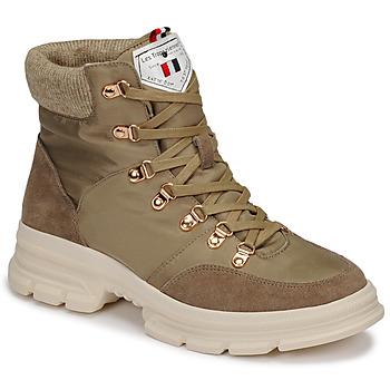 Schuhe Damen Boots Les Tropéziennes par M Belarbi CAKE Kaki
