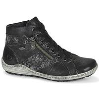Schuhe Damen Sneaker High Remonte Dorndorf R1497-45 Schwarz