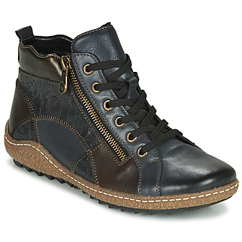 Schuhe Damen Sneaker High Remonte Dorndorf R4790-14 Blau