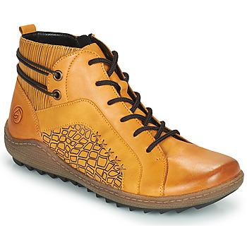Schuhe Damen Sneaker High Remonte Dorndorf R1499-68 Gelb