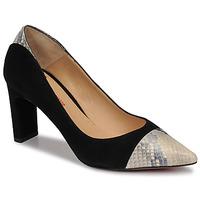 Schuhe Damen Pumps Perlato JAMIRI Schwarz / Beige