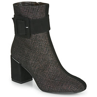 Schuhe Damen Low Boots Perlato JAMIROCK Schwarz