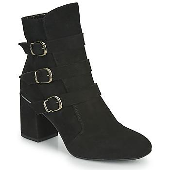 Schuhe Damen Low Boots Perlato JAMIKOU Schwarz