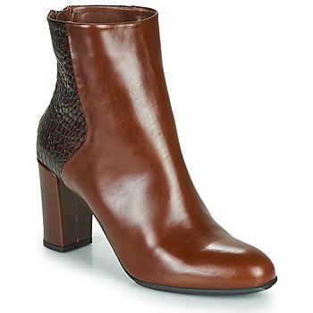 Schuhe Damen Low Boots Perlato JAMICOT Braun