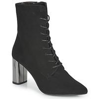 Schuhe Damen Low Boots Perlato JAMOGA Schwarz