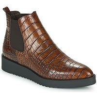 Schuhe Damen Boots Perlato JAMINO Braun