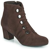 Schuhe Damen Low Boots Perlato JAMOVE Braun