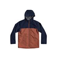 Kleidung Jungen Jacken Quiksilver WAITING PERIOD Marine / Braun