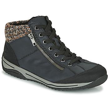 Schuhe Damen Boots Rieker L5223-00 Blau