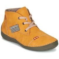 Schuhe Damen Boots Rieker 52543-69 Gelb