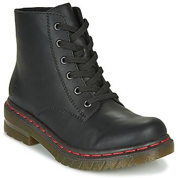 Schuhe Damen Boots Rieker 76240-00 Schwarz
