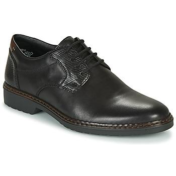Schuhe Herren Derby-Schuhe Rieker 16541-02 Schwarz