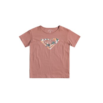 Kleidung Mädchen T-Shirts Roxy DAY AND NIGHT Rose
