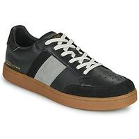 Schuhe Herren Sneaker Low Serafini WIMBLEDON Schwarz / Grau