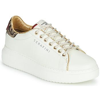 Schuhe Damen Sneaker Low Serafini J.CONNORS Weiss