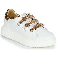 Schuhe Damen Sneaker Low Serafini J.CONNORS Weiss / Gold