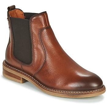 Schuhe Damen Boots Pikolinos ALDAYA W8J Braun