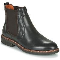 Schuhe Damen Boots Pikolinos ALDAYA W8J Schwarz / Braun