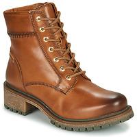 Schuhe Damen Boots Pikolinos ASPE W9Z Braun