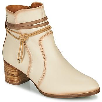 Schuhe Damen Low Boots Pikolinos CALAFAT W1Z Beige / Braun