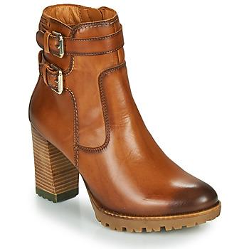 Schuhe Damen Low Boots Pikolinos CONNELLY W7M Braun