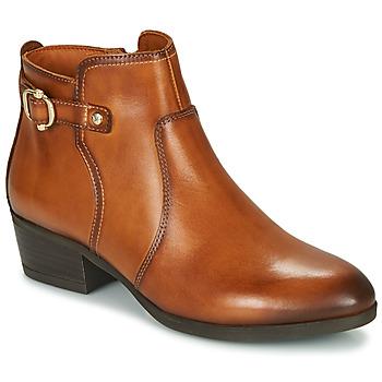 Schuhe Damen Low Boots Pikolinos DAROCA W1U Braun