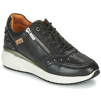 Schuhe Damen Sneaker Low Pikolinos SELLA W6Z Schwarz