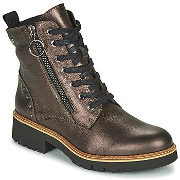 Schuhe Damen Boots Pikolinos VICAR W0V Silbern