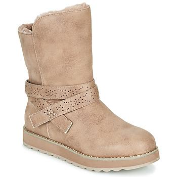 Schuhe Damen Boots Skechers KEEPSAKES 2.0 Maulwurf