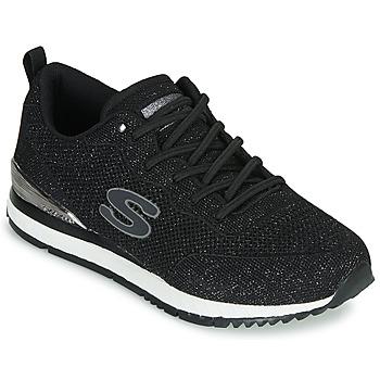 Schuhe Damen Sneaker Low Skechers SUNLITE Schwarz