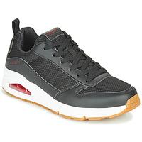 Schuhe Herren Sneaker Low Skechers UNO FASTIME Schwarz