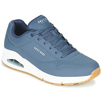 Schuhe Herren Sneaker Low Skechers UNO STAND ON AIR Marine
