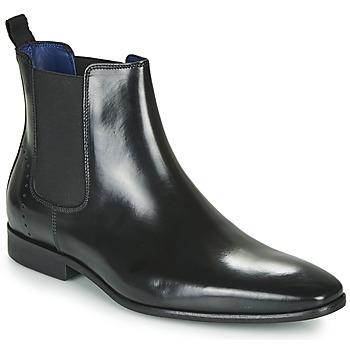 Schuhe Herren Boots Azzaro JAGER Schwarz