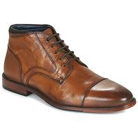 Schuhe Herren Boots Azzaro TELLIS Cognac