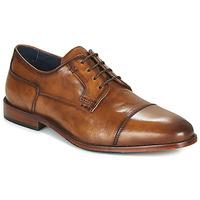 Schuhe Herren Derby-Schuhe Azzaro TILLEUL Cognac