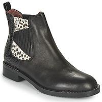 Schuhe Damen Boots Café Noir JOYE Schwarz