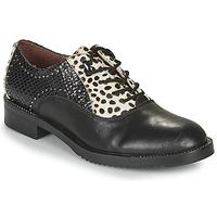 Schuhe Damen Derby-Schuhe Café Noir JEREL Schwarz / Weiss