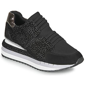 Schuhe Damen Sneaker Low Café Noir JOZIE Schwarz
