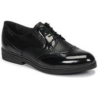 Schuhe Damen Derby-Schuhe Tamaris KELA Schwarz