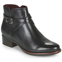 Schuhe Damen Low Boots Tamaris MARLY Schwarz