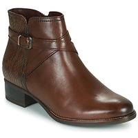 Schuhe Damen Low Boots Tamaris MARLY Braun