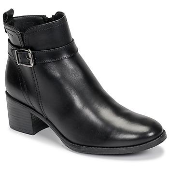 Schuhe Damen Low Boots Tamaris PAULETTA Schwarz