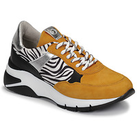 Schuhe Damen Sneaker Low Tamaris ELLE Senf / Schwarz / Olive / gelb