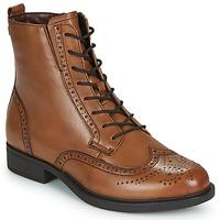 Schuhe Damen Boots Tamaris SUZAN Braun