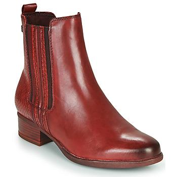 Schuhe Damen Low Boots Tamaris MARLY Bordeaux